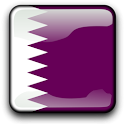 Qatar Flag Clock Widget icon