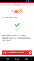 Screenshot of Salland declaratie App
