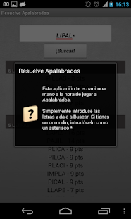 Solve Apalabrados Spanish - screenshot thumbnail