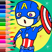 Coloring Captain Game