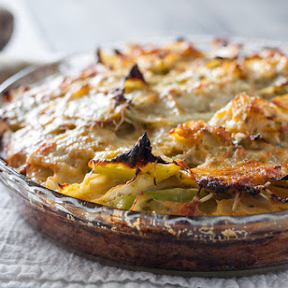 Weeknight Cabbage Gratin