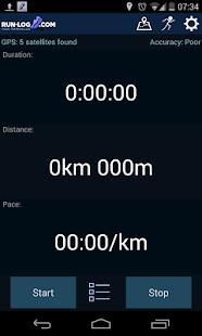 Running tracker - Run-log.com- screenshot thumbnail
