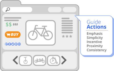 3. Pastikan bahwa pengguna tahu tindakan yang harus dilakukan di situs sobat