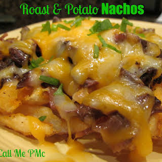 Roast and Potato Nachos (Encore Dish for Roast).