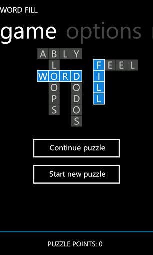 Word Fill Metro Free