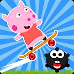 Peppie Pig Skating Games