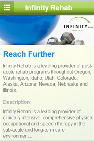 Infinity Rehab - screenshot