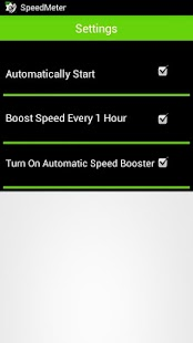 Mobile Speed Booster Advanced - screenshot thumbnail