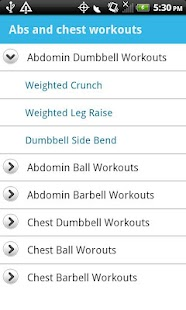 Abs & Chest Workouts - screenshot thumbnail