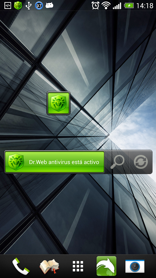Dr.Web v.7 Anti-virus Light - screenshot