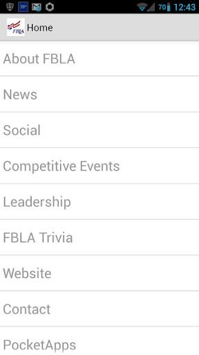 FBLA App