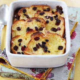 Chocolate Bread And Butter Pudding.