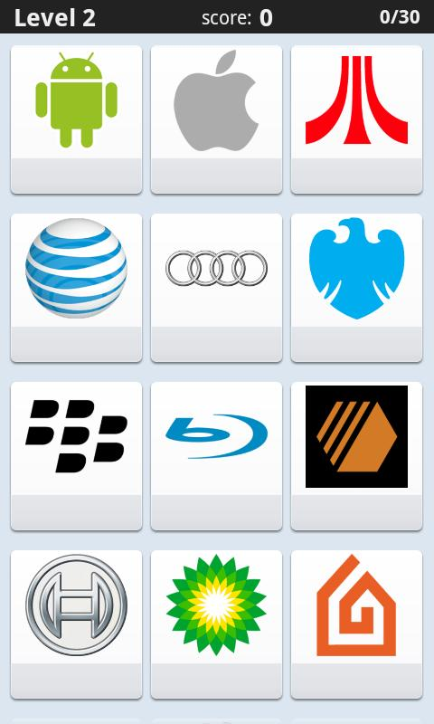logo Quiz(select 1in4) - screenshot