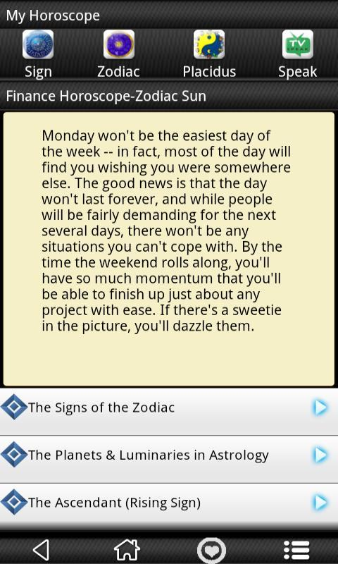 Daily Libra Horoscope 2013 - screenshot