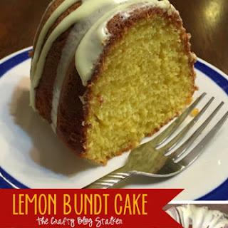 Delicious Lemon Bundt Cake.