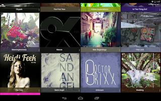 Screenshot of Chrome Theme - Rocket Player