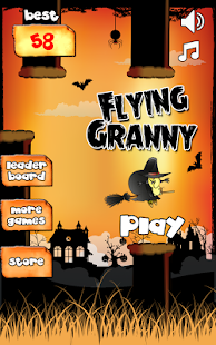 Flying Granny - screenshot thumbnail