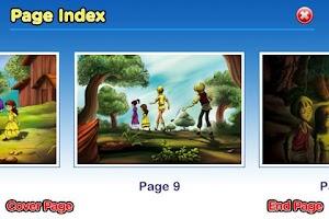 Screenshot of StoryChimes Hansel and Gretel
