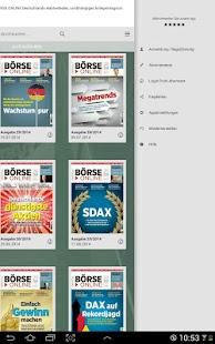 BÖRSE ONLINE E-Paper - screenshot thumbnail