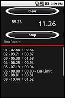 Screenshot of Shot Timer