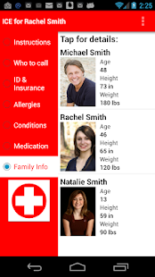 Family Medical Info - screenshot thumbnail