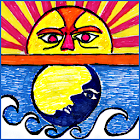 Tide Now CA, California Tides, Sun and Moon Times icon