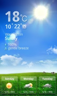 MXHome Theme Weather- screenshot thumbnail
