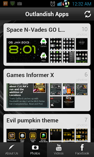 Outlandish Apps Portal