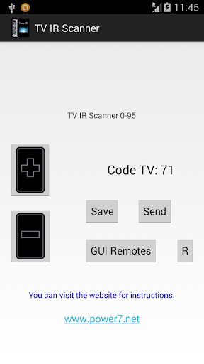 TV IR Scanner - Remote Control
