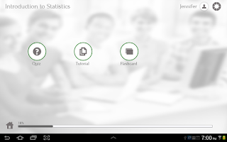 Screenshot of Learn Statistics
