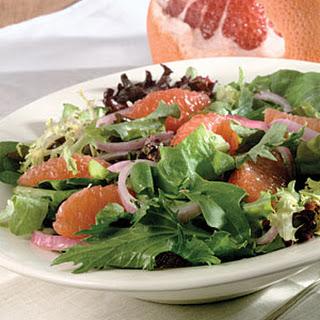 Grapefruit-And-Greens Salad