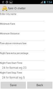 fare-O-meter - screenshot thumbnail