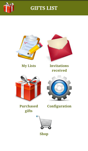 Gifts List