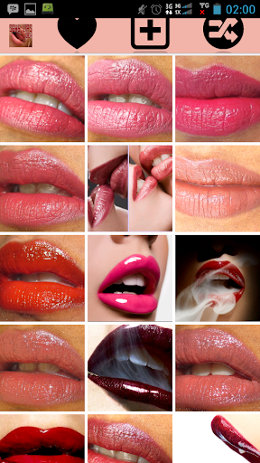 Lips Coloring Ideas