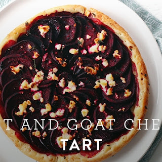 Beet and Goat Cheese Tart Recipe
