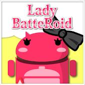 LadyBatteRoidRibbonDiagonalGry