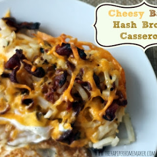 Cheesy Bacon Hash Brown Casserole.