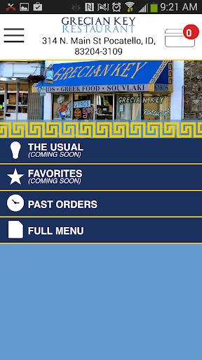 Grecian Key Restaurant