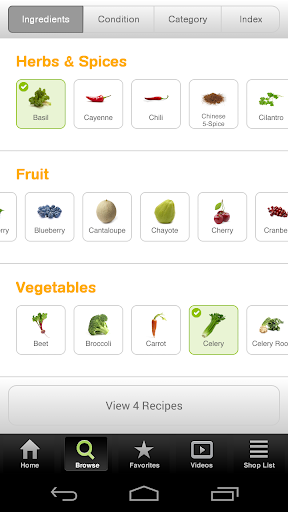 Screenshot for 101 Juice Recipes in United States Play Store