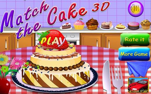 Match The Cake 3D