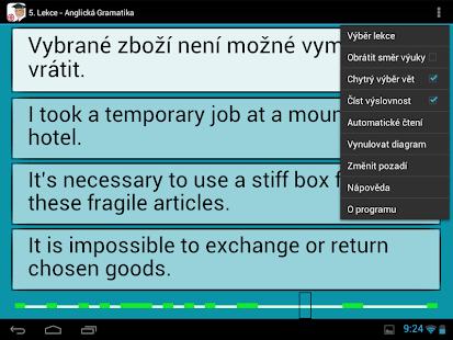 Angličtina - Gramatika Screenshot 5