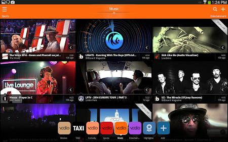 Vodio: Watch Videos, TV & News 1.7.1 screenshot 159731