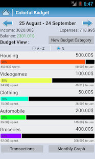 Colorful Budget - screenshot thumbnail