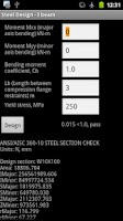 Screenshot of Steel Design Free
