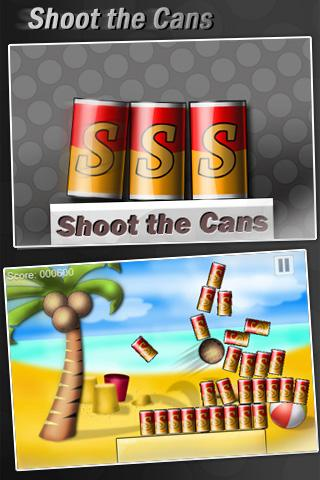 Shoot the Cans- screenshot