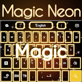 Magic Neon Keyboard