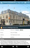 Screenshot of New Zealand Travel Guide