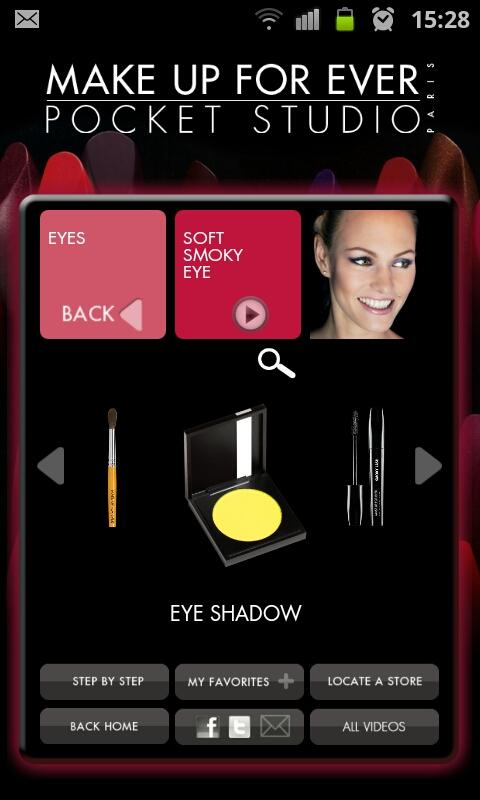 MAKE UP FOR EVER Pocket Studio - screenshot
