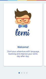 Lerni. Learn languages. - náhled