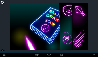 Screenshot of Glow Draw Book